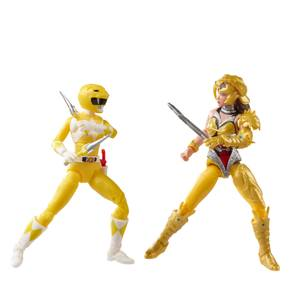 Hasbro Power Rangers Lightning Collection Mighty Morphin Yellow Ranger Vs. Scorpina 2-Pack Action Figure