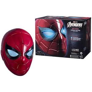Hasbro Marvel Legends Series Spider-Man Iron Spider Electronic Helmet Replica