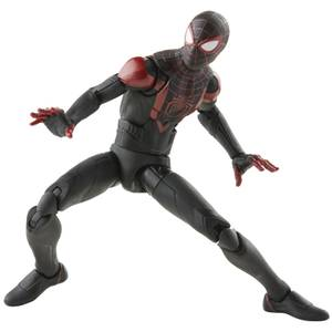 Hasbro Marvel Legends Series Gamerverse Miles Morales 6 Inch Action Figure and Build-A-Figure Part