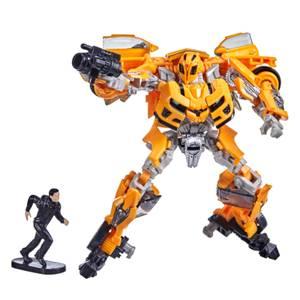 Hasbro Transformers Studio Series 74 Deluxe Class Transformers: Revenge of the Fallen Action Figure Bumblebee & Sam Witwicky