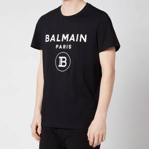 Balmain Men's Printed T-Shirt - Black
