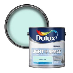 Dulux Light & Space Lagoon Falls - Matt Emulsion Paint - 2.5L