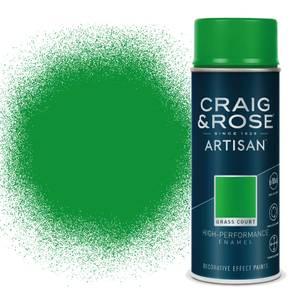 Craig & Rose Artisan Enamel Gloss Spray Paint - Grass Court - 400ml