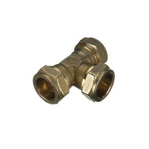 Compression Reducing Tee 22x22x15mm