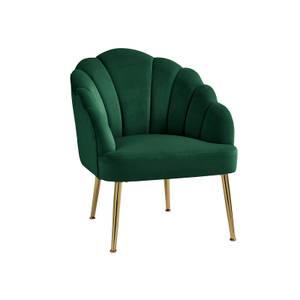 Sophia Scallop Occasional Chair - Emerald