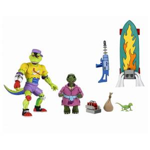 NECA Teenage Mutant Ninja Turtles Cartoon Mondo Gecko Ultimate 7 Inch Scale Action Figure