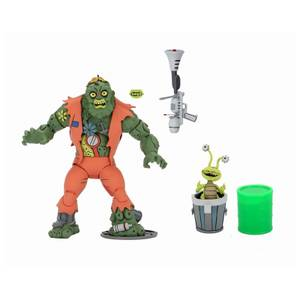 NECA Teenage Mutant Ninja Turtles Cartoon Muckman Ultimate 7 Inch Scale Action Figure