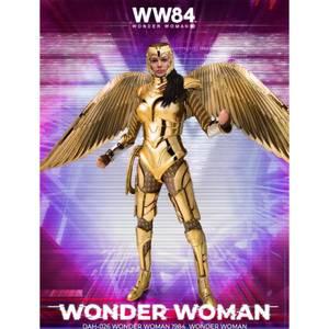 Beast Kingdom Wonder Woman 1984 Dynamic 8ction Heroes Figure - Golden Armor Wonder Woman