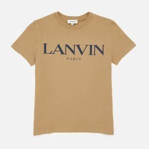 Lanvin Boys' Logo T-Shirt - Khaki