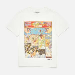 Lanvin Boys' Graphic T-Shirt - Offwhite