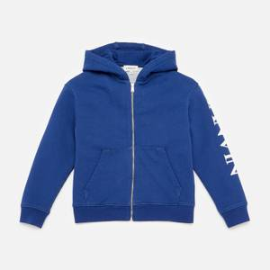 Lanvin Boys' Hooded Zip Cardigan - Denim Blue