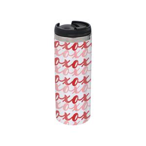 XO Stainless Steel Thermo Travel Mug - Metallic Finish