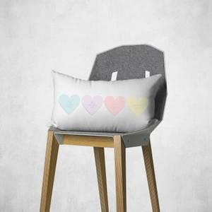 Love Hearts Rectangular Cushion