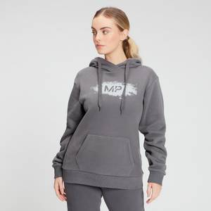 MP Women's Chalk Graphic Hoodie - Carbon