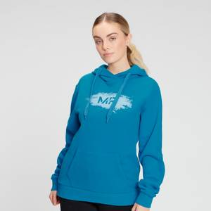MP Women's Chalk Graphic Hoodie - Aqua