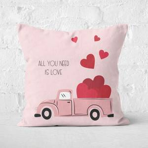 All You Need Is Love Square Cushion