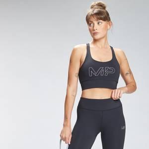 MP Women's Repeat Mark Graphic Training Sports Bra - Black