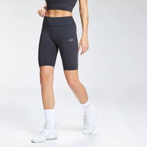 MP Women's Repeat Mark Graphic Training Cycling Shorts - Black