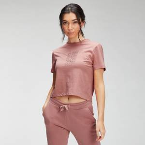 MP Women's Repeat MP Crop T-Shirt - Dust Pink