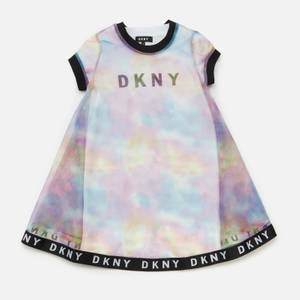 DKNY Girls' 2-in-1 T-Shirt Dress - Unique
