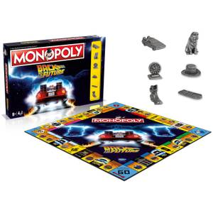 Monopoly Board Games - Back to the Future Edition - Zavvi Online Exclusive (Limited Edition)