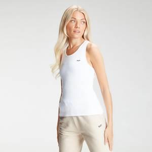 MP Women's Essential Rib Vest - White