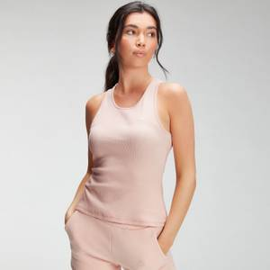 MP Women's Essential Rib Vest - Light Pink
