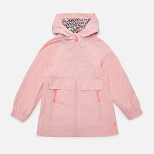 Joules Girls' Roseberry Rain Mac - Pink