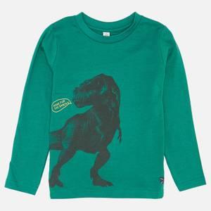 Joules Boys' Action Sweatshirt - Green Dino
