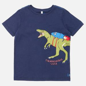 Joules Boys' Archie T-Shirt - Navy Dino