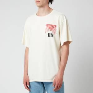 Rhude Men's Box Perspective T-Shirt - Off White