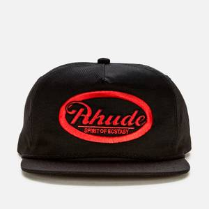 Rhude Men's Graphic 7 Cap - Black