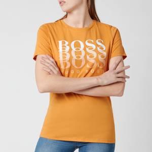 BOSS Women's Eloga1 T-Shirt - Open Yellow