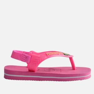 Havaianas Toddlers' Brasil Logo II Flip Flops - Pink Flux