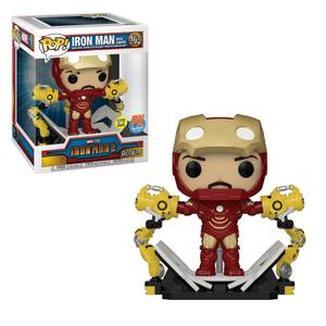 PX Previews Marvel Iron Man Mark IV with Gantry EXC Deluxe Funko Pop! Vinyl