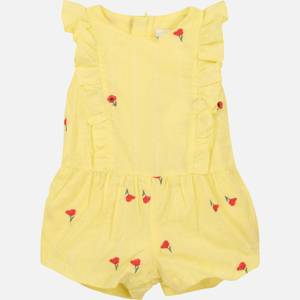 Chloe Girls' Toddlers All In One Romper - Lime