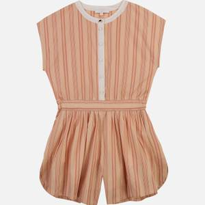 Chloe Girls' All In One Playsuit - Nude