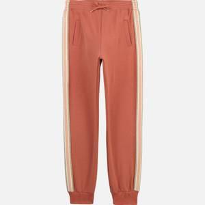 Chloe Girls' Sweatpant Trousers - Brick
