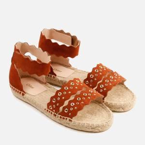 Chloé Girls' Strap Sandals - Brick