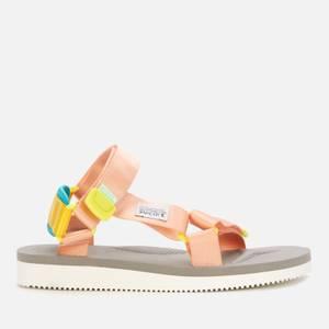 Suicoke Women's Depa Cab Sandals - Pink/Grey
