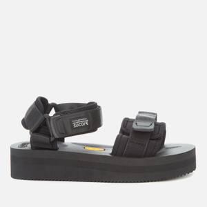Suicoke Women's Cel-Vpo Flatform Sandals - Black