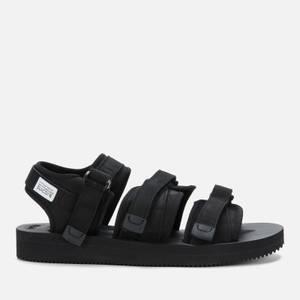 Suicoke Men's GGA-V Triple Strap Sandals - Black