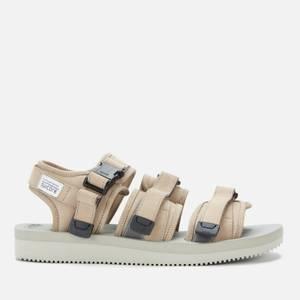 Suicoke Men's Gga-Vnu Triple Strap Sandals - Beige