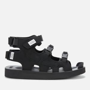 Suicoke Men's Boak-V Triple Strap Sandals - Black