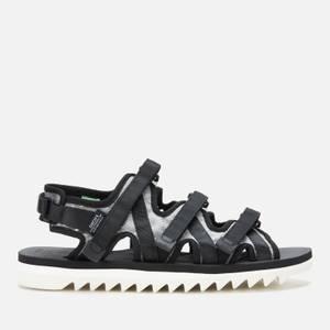 Suicoke Men's Zip-3AB Sandals - Black