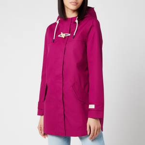 Joules Women's Coast Mid Jacket - Berry Blush