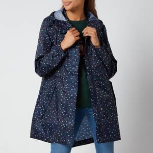 Joules Women's Golightly Packable Jacket - Multi Spot