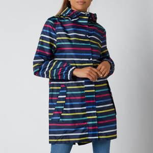 Joules Women's Golightly Packable Jacket - Multi Stripe