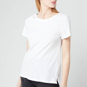 Joules Women's Carley Solid T-Shirt - Bright White