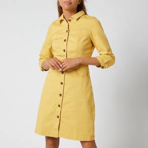 Joules Women's Wilmer Dress - Misted Yellow